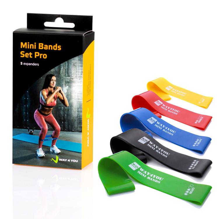 Резина для тренировок, Mini bands, фитнес резинки